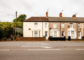 Thumbnail 3 bed end terrace house to rent in Penarth Road, Cardiff