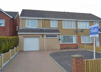 Thumbnail 5 bed semi-detached house for sale in Wesley Close, Winterton, Scunthorpe