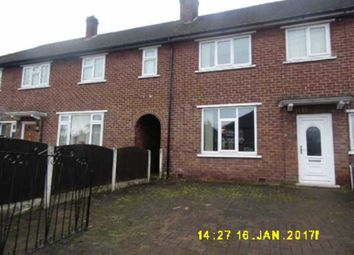 Thumbnail 3 bed terraced house for sale in Belper Road, Eccles, Manchester