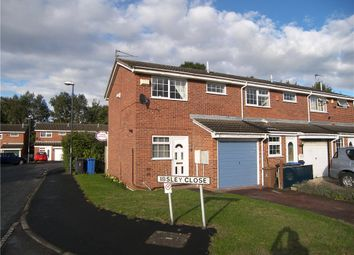 Thumbnail 2 bedroom end terrace house for sale in Ibsley Close, Alvaston, Derby