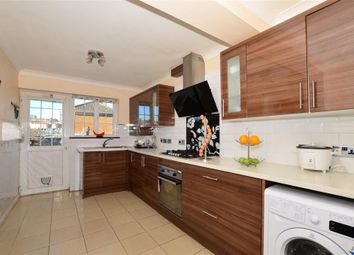 Thumbnail 4 bed end terrace house for sale in St. Williams Way, Rochester, Kent