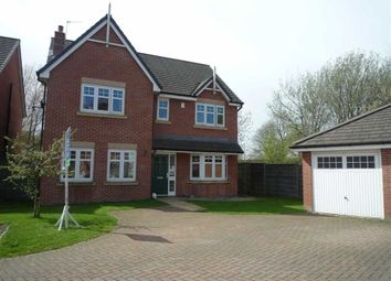 Thumbnail 4 bed detached house to rent in Godolphin Close, Eccles, Manchester