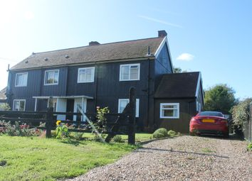 Thumbnail 3 bedroom semi-detached house for sale in Mill Lane, Pulham Market, Diss