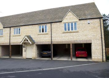 Thumbnail 1 bedroom flat to rent in Cross Close, Cirencester