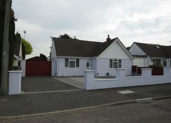 Thumbnail 3 bed detached bungalow for sale in Benbridge Avenue, Bournemouth