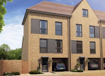 "Thumbnail 3 bed terraced house for sale in ""Herringbone I"" at Hackbridge Road, Wallington"