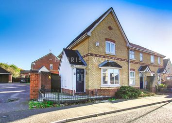 Thumbnail 3 bed end terrace house for sale in Derwent Road, Highwoods, Colchester