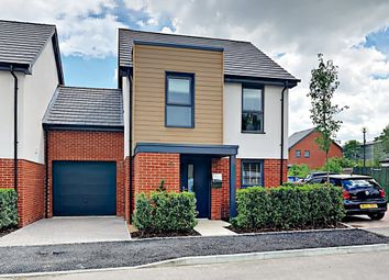 Thumbnail 3 bed link-detached house for sale in Redfields Meadow, Church Crookham, Fleet