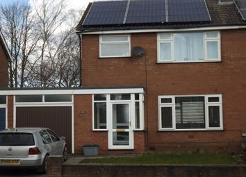 Thumbnail 3 bed semi-detached house to rent in Nixon Drive, Winsford, Cheshire