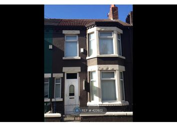Thumbnail 3 bed terraced house to rent in Skipton Road, Liverpool