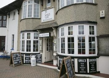 Thumbnail Restaurant/cafe for sale in Griffs Grill & Restaurant, 36 St. Pirans Road, Perranporth, Cornwall