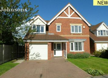 Thumbnail 4 bed detached house for sale in Shooters Hill Drive, Rossington, Doncaster.