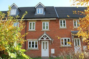 Thumbnail 3 bed terraced house to rent in Chestnut Tree Gardens, Warminster