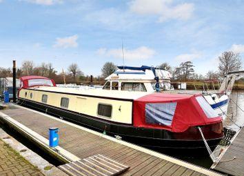 Thumbnail 2 bedroom houseboat for sale in Harts Boatyard, Surbiton