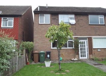 Thumbnail 3 bedroom end terrace house for sale in Field Close, London