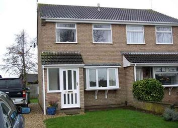 Thumbnail 2 bed semi-detached house to rent in Leconfield Close, Lincoln