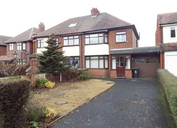 Thumbnail 3 bed semi-detached house for sale in Coronation Road, Pelsall, Walsall, West Midlands