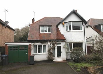 Thumbnail 3 bed detached house for sale in Oakfield Road, Selly Park, Birmingham
