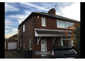 Thumbnail 3 bed semi-detached house to rent in Hall Drive, Beeston, Nottingham