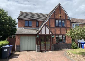 Thumbnail 4 bed detached house for sale in Fairway, Branston, Burton-On-Trent