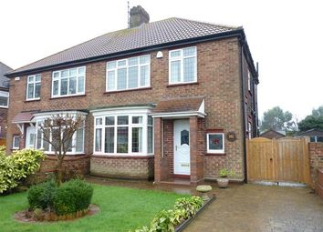 Thumbnail 3 bed semi-detached house for sale in Queen Mary Avenue, Cleethorpes