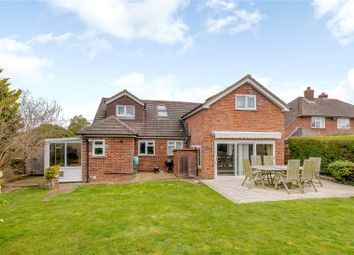 Thumbnail 4 bedroom detached house for sale in Queens Road, North Warnborough, Hook, Hampshire