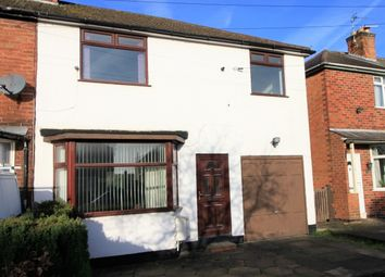 Thumbnail 3 bed semi-detached house to rent in Belton Road, Braunstone Town