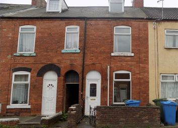 Thumbnail 3 bed terraced house to rent in Clinton Street, Worksop, Nottinghamshire