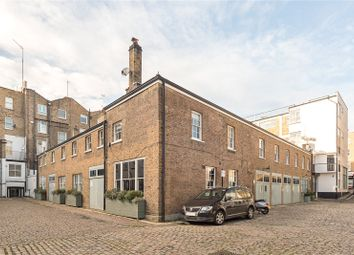 Thumbnail 3 bed mews house for sale in Montagu Mews North, Marylebone, London
