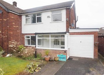 Thumbnail 3 bed semi-detached house to rent in Bleasdale Close, Unsworth, Bury