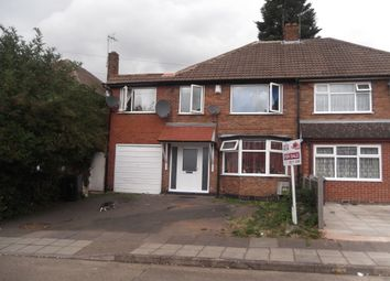 Thumbnail 5 bed semi-detached house for sale in Lydford Road, Leicester