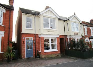 Thumbnail 4 bedroom semi-detached house for sale in Broom Hill Road, Ipswich