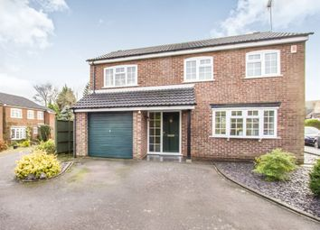 Thumbnail 4 bedroom detached house for sale in Prospect Road, Kibworth, Leicester
