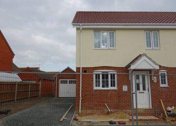 Thumbnail 3 bedroom semi-detached house for sale in Heritage Green, Kessingland, Lowestoft