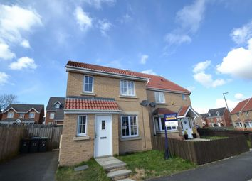 Thumbnail 3 bed semi-detached house to rent in Chapel Drive, Delves Lane, Consett