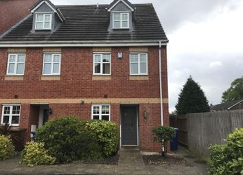 Thumbnail 3 bedroom town house to rent in Richardson Way, Rugeley