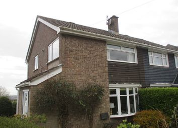 Thumbnail 3 bed semi-detached house for sale in Tyn Y Twr, Baglan, Port Talbot, Neath Port Talbot.