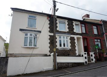 Thumbnail 4 bed end terrace house for sale in Gellideg Road, Pontypridd
