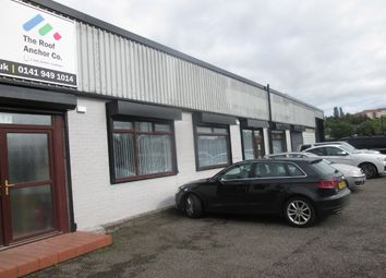 Thumbnail Industrial for sale in Dalsetter Avenue, Glasgow