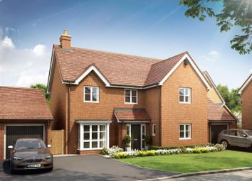 Thumbnail 4 bed detached house for sale in Juniper Park, Off Ruby Cresent, Berryfields, Aylesbury