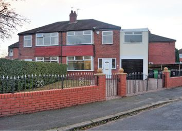 Thumbnail 4 bed semi-detached house for sale in Inverness Avenue, Manchester