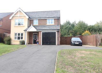 Thumbnail 4 bed detached house for sale in Sabrina Court, Meadow Farm Drive, Shrewsbury
