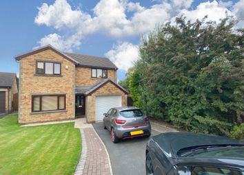 Thumbnail 4 bed detached house for sale in Bamburgh Drive, Burnley