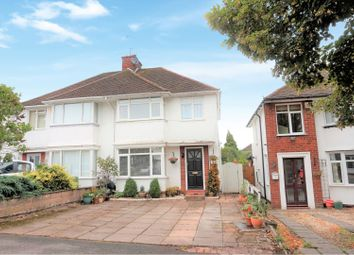 Thumbnail 3 bed semi-detached house for sale in Park Road West, Wollaston