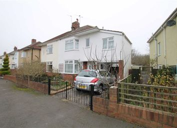 Thumbnail 4 bed semi-detached house for sale in Lakewood Crescent, Henleaze, Bristol
