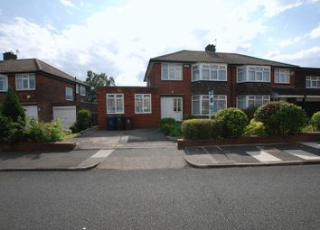 Thumbnail 4 bed semi-detached house for sale in Briardene Crescent, Gosforth, Newcastle Upon Tyne