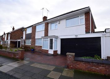 Thumbnail 4 bed semi-detached house for sale in Northcote Road, Wallasey, Merseyside
