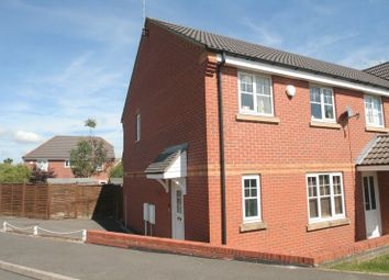 Thumbnail 3 bed semi-detached house to rent in Spencer View, Ellistown, Coalville