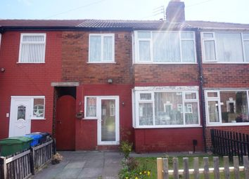 Thumbnail 3 bed terraced house for sale in Lostock Avenue, Warrington