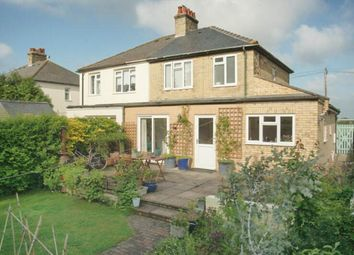 Thumbnail 4 bed semi-detached house for sale in Horningsea Road, Fen Ditton, Cambridge